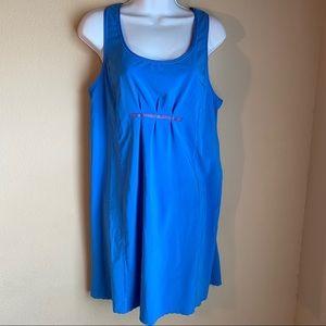 Lululemon sz 6 blue Tank Reflective dress